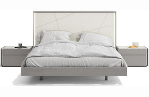 Romilly Grey Premium Bed