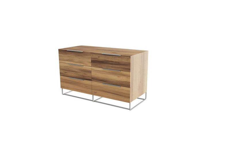 Lorenzo Italian Modern Light Oak Dresser