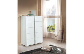 San Marino Modern Chest White