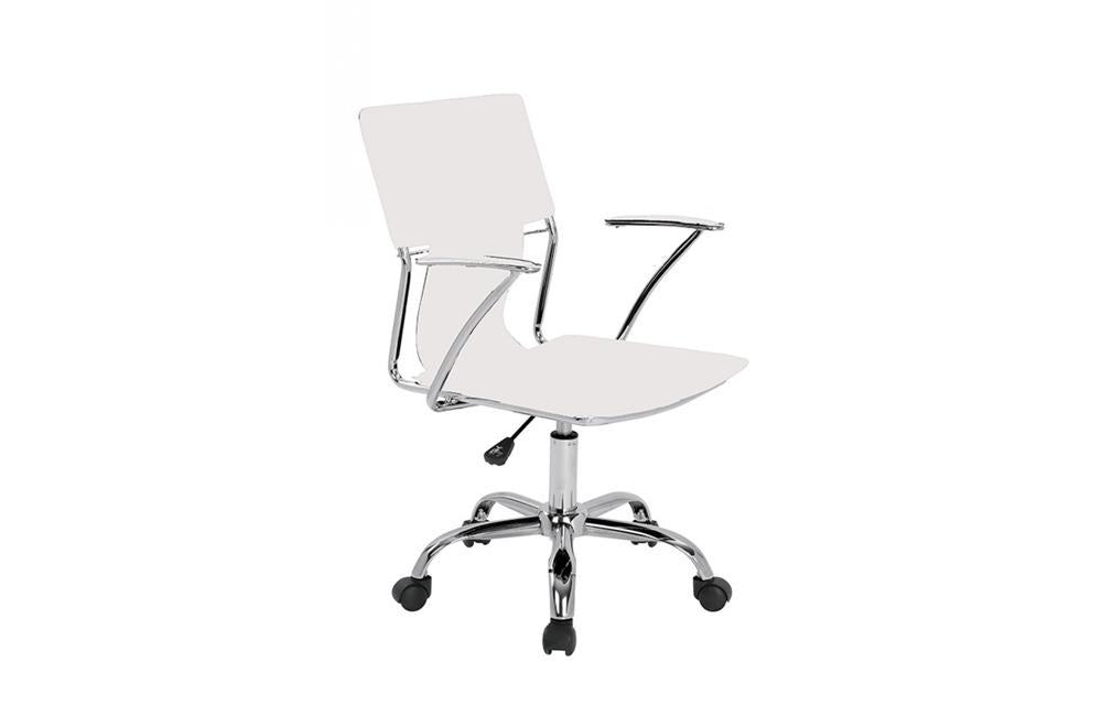 Astonishing Emery Office Desk Chair White Ocoug Best Dining Table And Chair Ideas Images Ocougorg