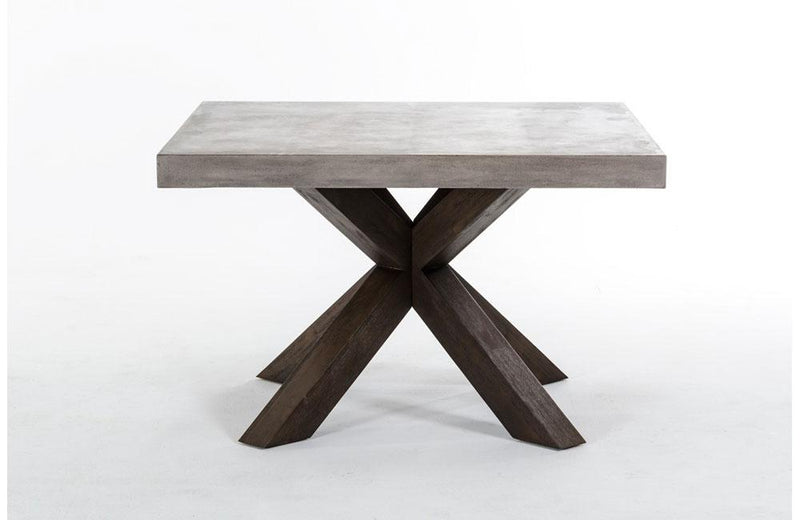 Urban Concrete Square Dining Table