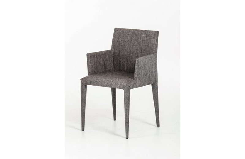 Medford Modern Gray Fabric Dining Chair