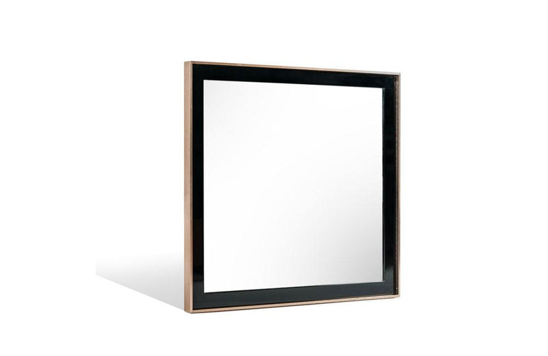Cartier Modern Black & Brushed Bronze Mirror