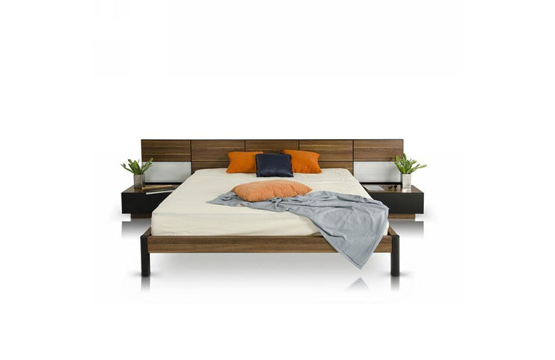Rondo Modern Bed with Nightstands