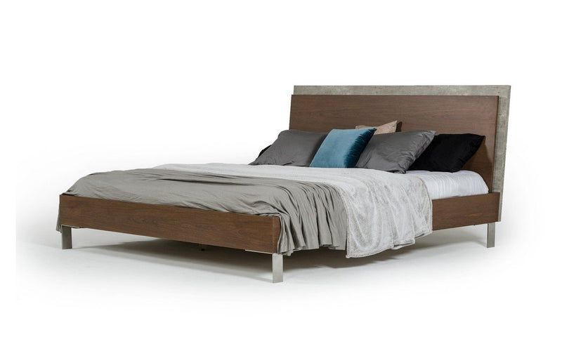 Conner Modern Bed Brown