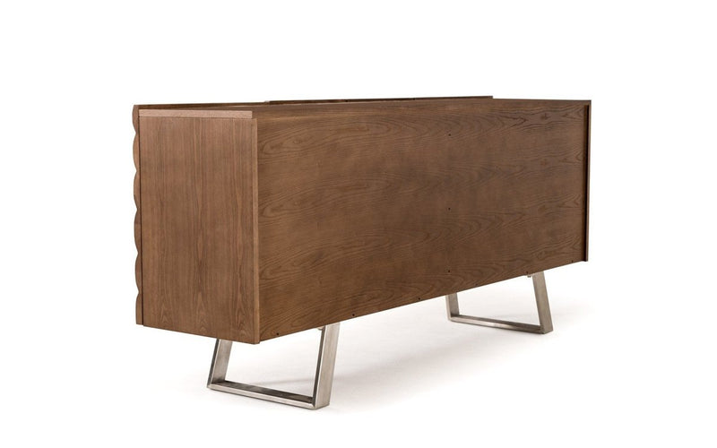 Finley Modern Walnut Buffet