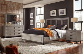 Hyde Park Liquid Panel Bed