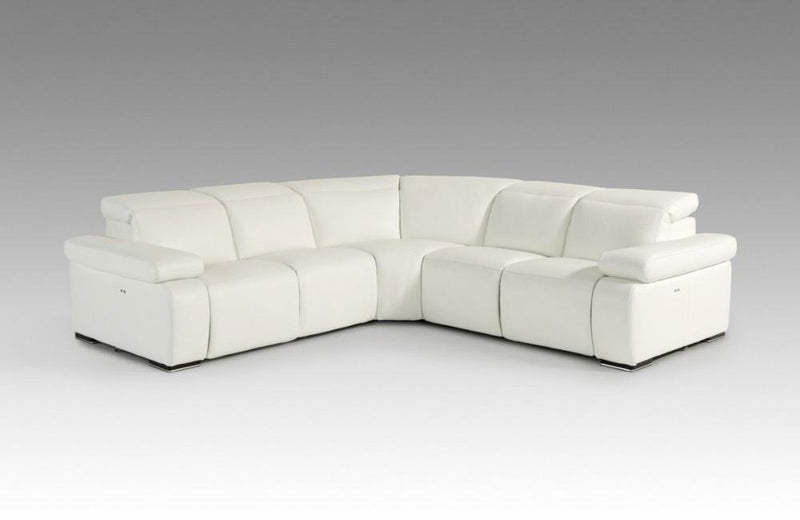 Amari Italian Leather Sectional Sofa