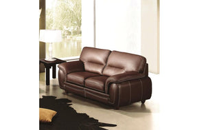 Varvara Loveseat Brown