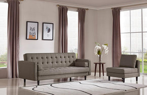 Silas Modern Fabric Sofa Bed Set