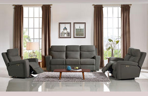 Trevor Modern Fabric Sofa Bed Set