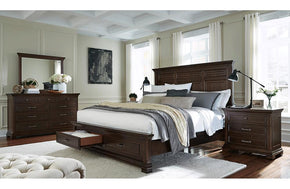 Weston Panel Storage Bed