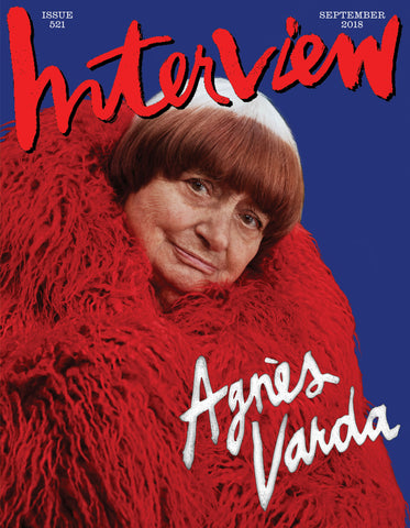 "Interview #521: <br>""Agnès Varda,""<br> September 2018"
