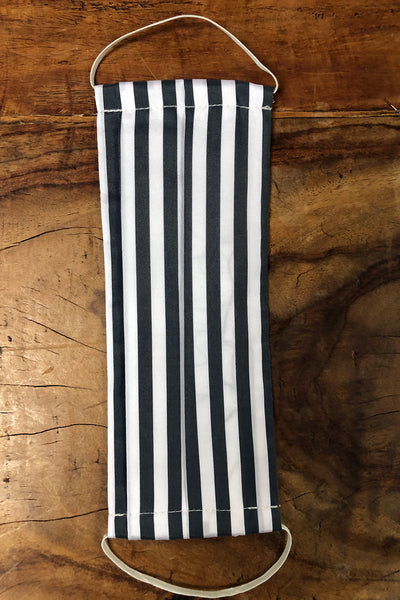 Z - Charcoal & White Stripe