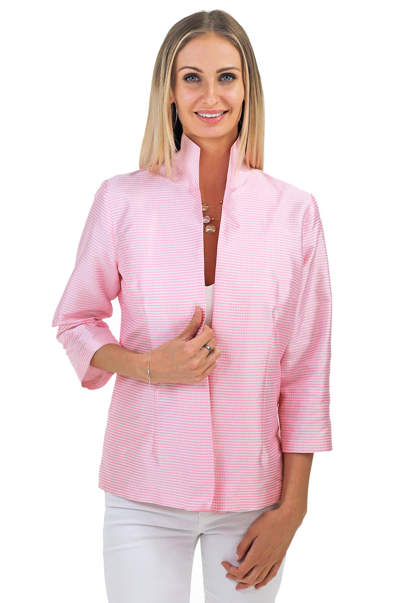 Ronette in Pink Mini Check