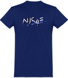 NJS4E (Black and Blue) T-shirts (Official) - Njs4ever.com / New Jack Swing 4Ever