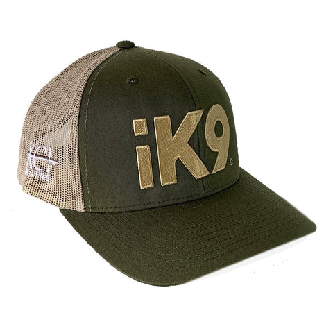 iK9 XCI Racing Flexfit Snapback Green Hat