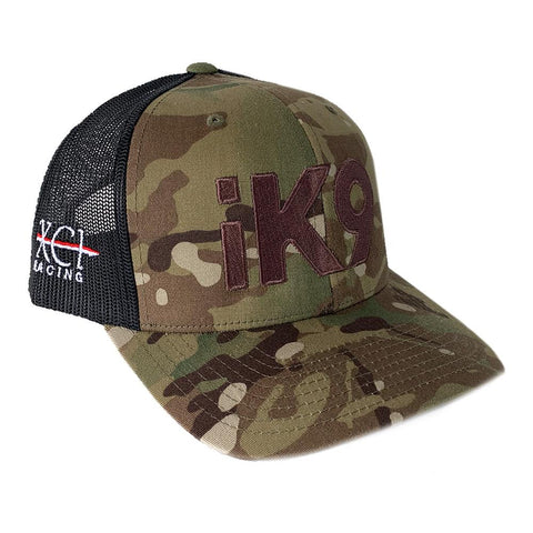 iK9 XCI Racing Flexfit Snapback Multicam Hat