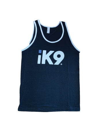 iK9 Mens Black Tank Top