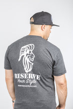 Load image into Gallery viewer, Comfortable King & Country Grooming t-shirts for men and women printed in Vancouver, BC.