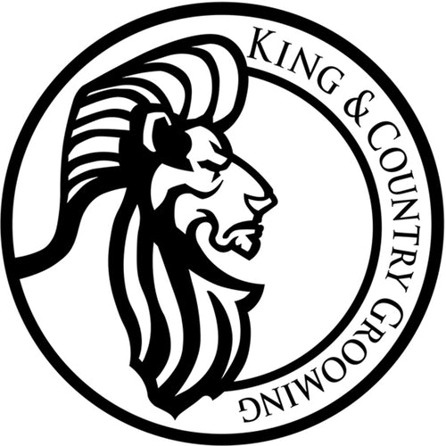King & Country Window Decal