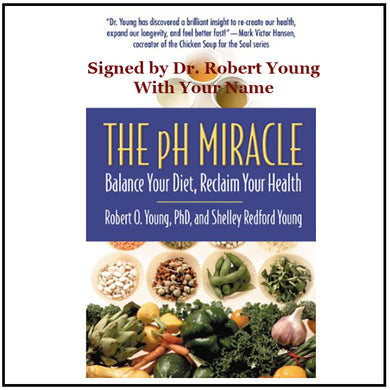 The pH Miracle - 2002 - Rare signed first edition, Hardcover Book