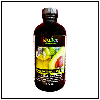 iJuice Avocado Garlic Oil
