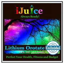 Load image into Gallery viewer, iJuice™ Colloidal Lithium Orotate