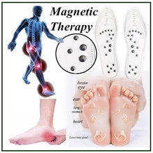 Load image into Gallery viewer, Innerlight Blue Magnetic Acupressure Insoles