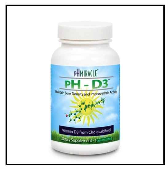 pH Miracle® pH D3 - 10,000 IU - capsules