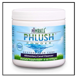 pH Miracle® pHlush Alimentary Canal Cleanser - powder and capsules