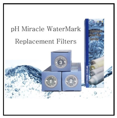 pH Miracle WaterMark 1 - Replacement Filters