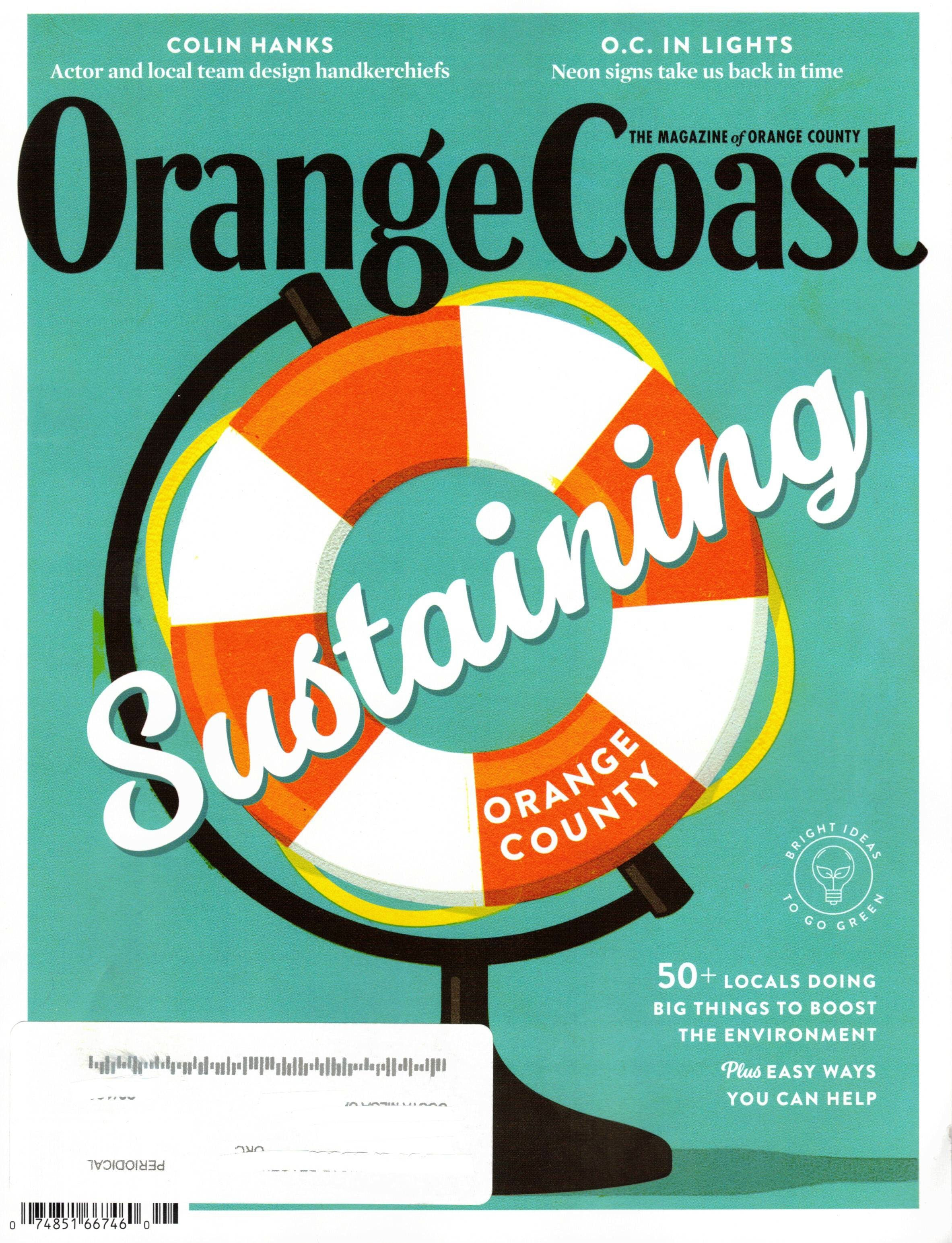 Orange Coast Magazine Cover