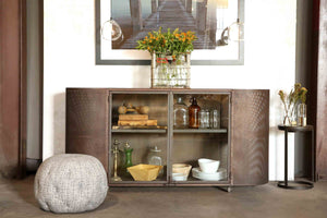 Isaac Oval Credenza