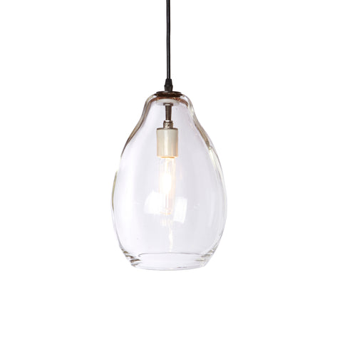 Bailey Lamp Medium - Clear