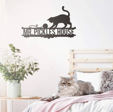Cat Lovers Monogram