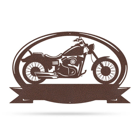 Motorcycle Monogram