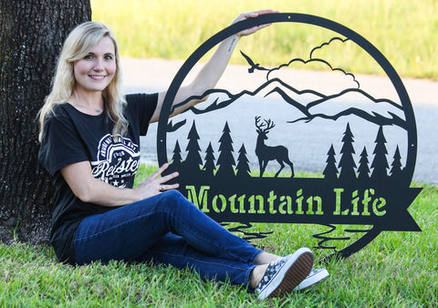 The Great Outdoors Monogram