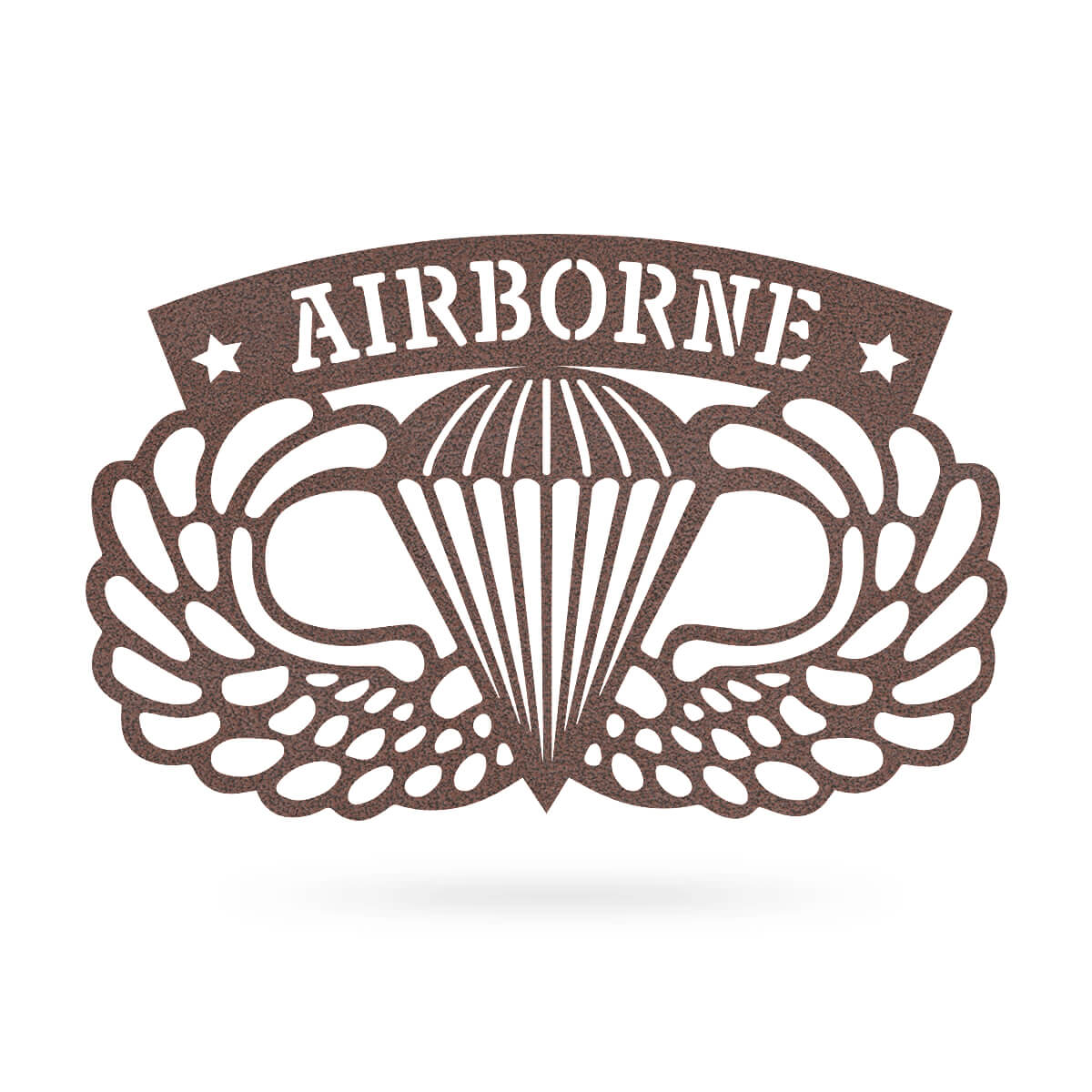 "Airborne Emblem Wall Décor 18""x11"" / Penny Vein - RealSteel Center"