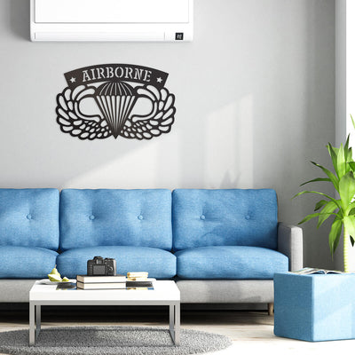 Airborne Emblem Wall Décor  - RealSteel Center