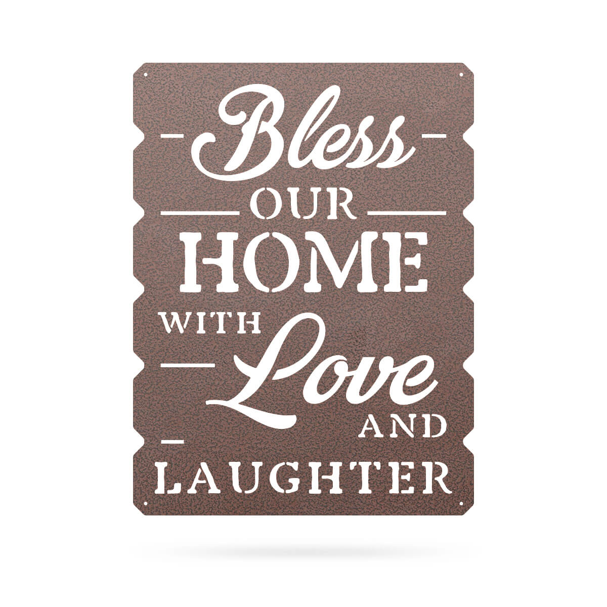 "Bless Our Home Wall Art 18""x24"" / Penny Vein - RealSteel Center"
