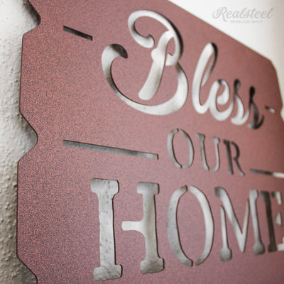 Bless Our Home Wall Art  - RealSteel Center