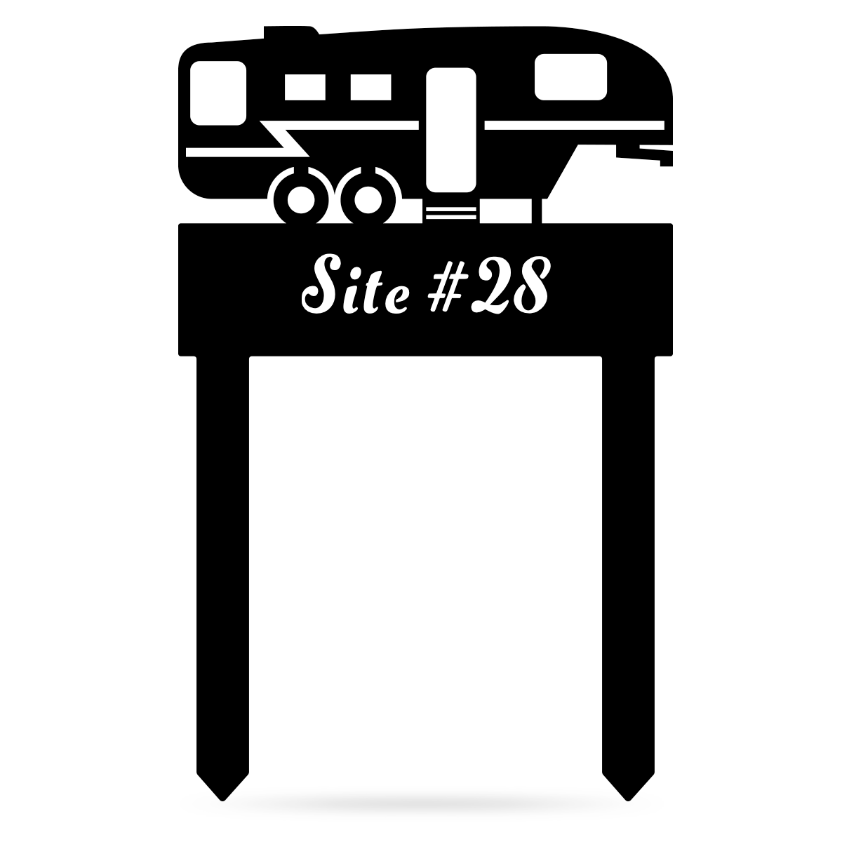 RV Camp Site Monogram  - RealSteel Center