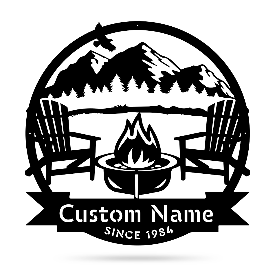 Campfire Monogram  - RealSteel Center