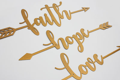 Faith Hope Love Arrows  - RealSteel Center