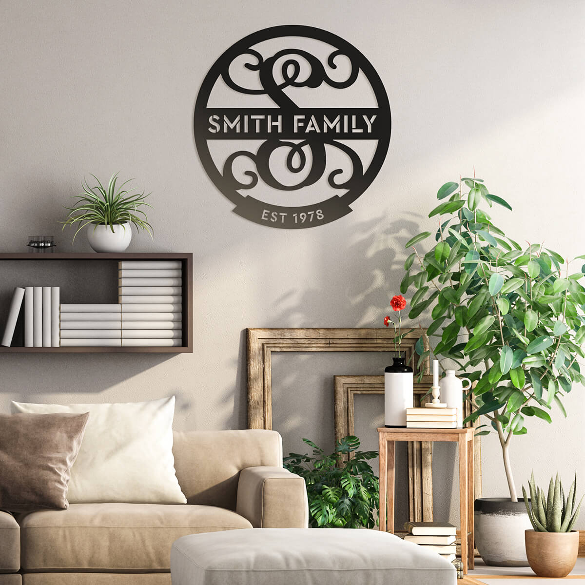 Family Name Monogram  - RealSteel Center