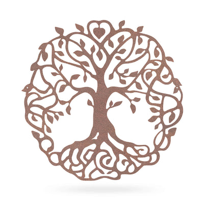 "Family Tree Of Life 18"" / Rust - RealSteel Center"