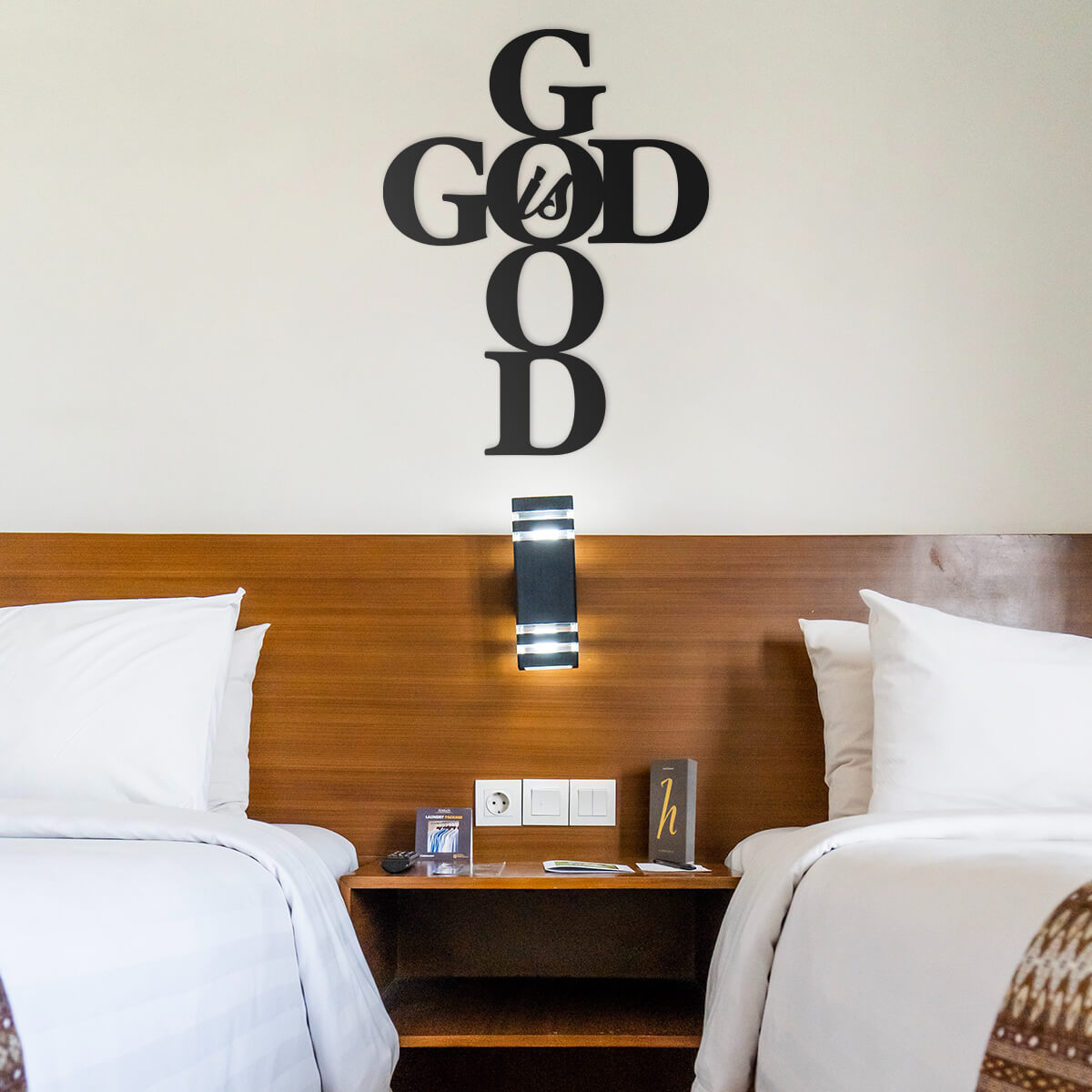 God is Good Wall Art  - RealSteel Center
