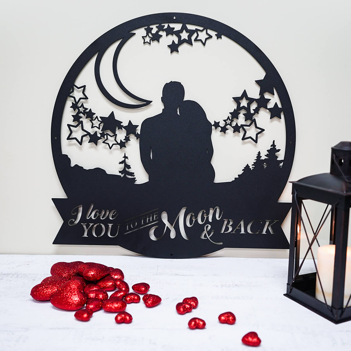 Love You To The Moon Wall Art  - RealSteel Center