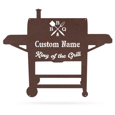 "BBQ Monogram 19""x24"" / Penny Vein - RealSteel Center"